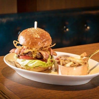 ◆牛肉100%絶品ハンバーガー
