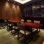 6名様までの完全個室VIPルームは接待利用時に大人気