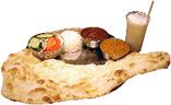 スパイスで野菜の持ち味を引き出す、ヘルシーな南インド料理◎