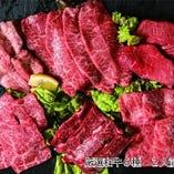 黒毛和牛メス厳選盛(6種 200g)