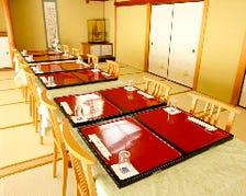 畳のお部屋にテーブルと椅子をご用意