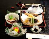 天ぷらさしみ定食