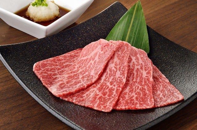和牛赤身焼きしゃぶ! 和牛の旨さ、食感を堪能してください。