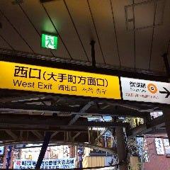 神田駅西口を出ます。