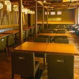 総座席数は72席で少人数~大人数まで対応