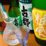 和牛によくあう美味しい京都のお酒類をご用意しております。