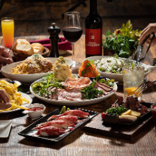 リッチな夜に【豪華な黒毛牛コース】赤身と霜降り食べ比べ!濃厚シチューに肉寿司3種盛り♪全8品&飲み放題