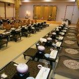 3階宴会場は座敷でのご利用も可能