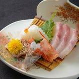 旬の魚ならではの魅力を味わえます