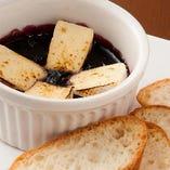 ブルーベリーとカマンベールチーズのオーブン焼き