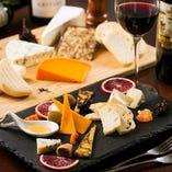 本日のチーズの盛り合わせ5種