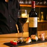 絶品イタリアンとワインのマリアージュをお楽しみください