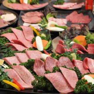 神戸牛取扱店 焼肉 もとやま 本店 コースの画像