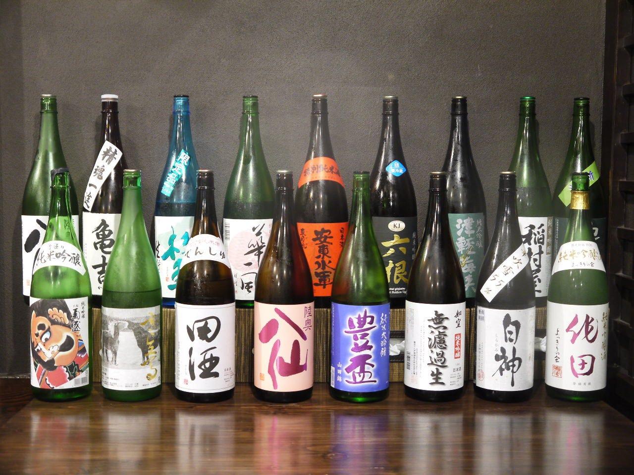 青森の地酒と季節限定の日本酒