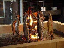 究極の魚焼き!炭火一本焼き