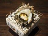深浦産久六サザエの壺焼き
