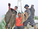 当店所有の桜丸で自ら釣り船上活〆した新鮮な魚!【八戸市】