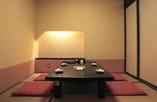 接待・会食にもご利用できる少人数個室もご用意できます。