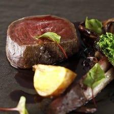 ◆COVA dinner◆前菜2品+パスタ+メイン2品+デザートまで、しっかり堪能出来るシェフお任せのフルコース