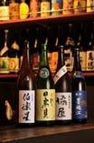 本日の日本酒は黒板をご覧下さい 450円~