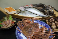 旬の海鮮、素材を集めた宴会コース