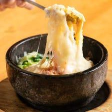 韓国料理  豪華なデザートドリンク