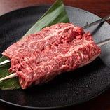 ハラミの串焼きステーキ