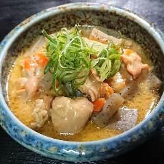 ◆鶏モツの土手煮