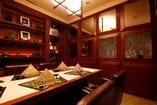 6名様までの特別室。