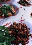 パットガッパオ<筍とタイバジルの炒め>  豚肉 1059円、本日のお魚 1059円