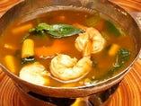 ゲーン パー<季節野菜入り森のハーブカレースープ>