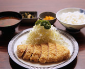 【ランチ】ロースカツ定食