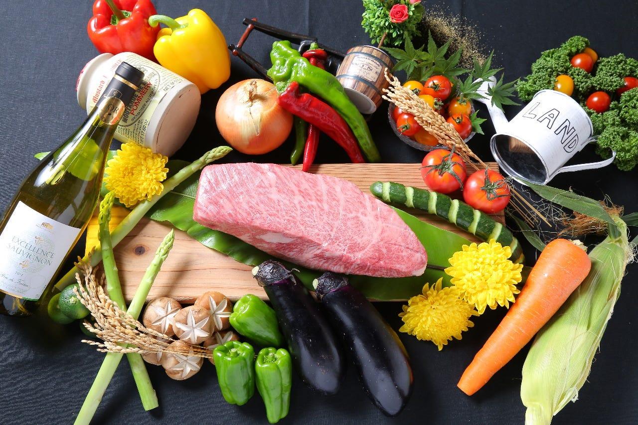 産地直送の野菜・果物・米