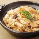 <和>松茸と秋茸御飯