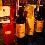 ワインやクラフトビールを種類豊富に味わっていただけます。