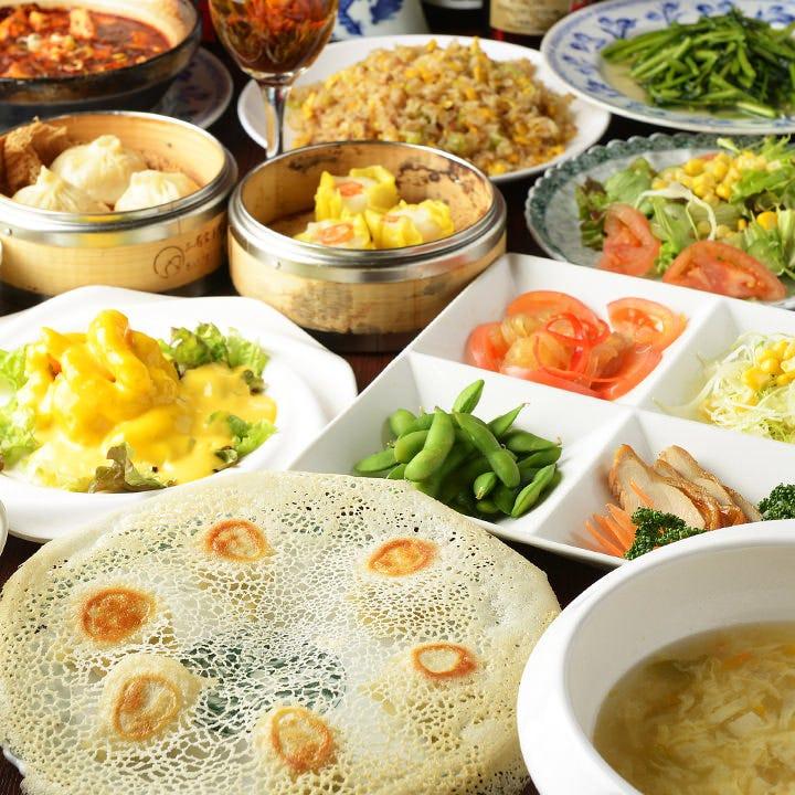 中華伝統と技を尽くした料理を堪能!
