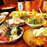 野らぼーの自慢の香川料理が味わえるお得な宴会コース2,800円~