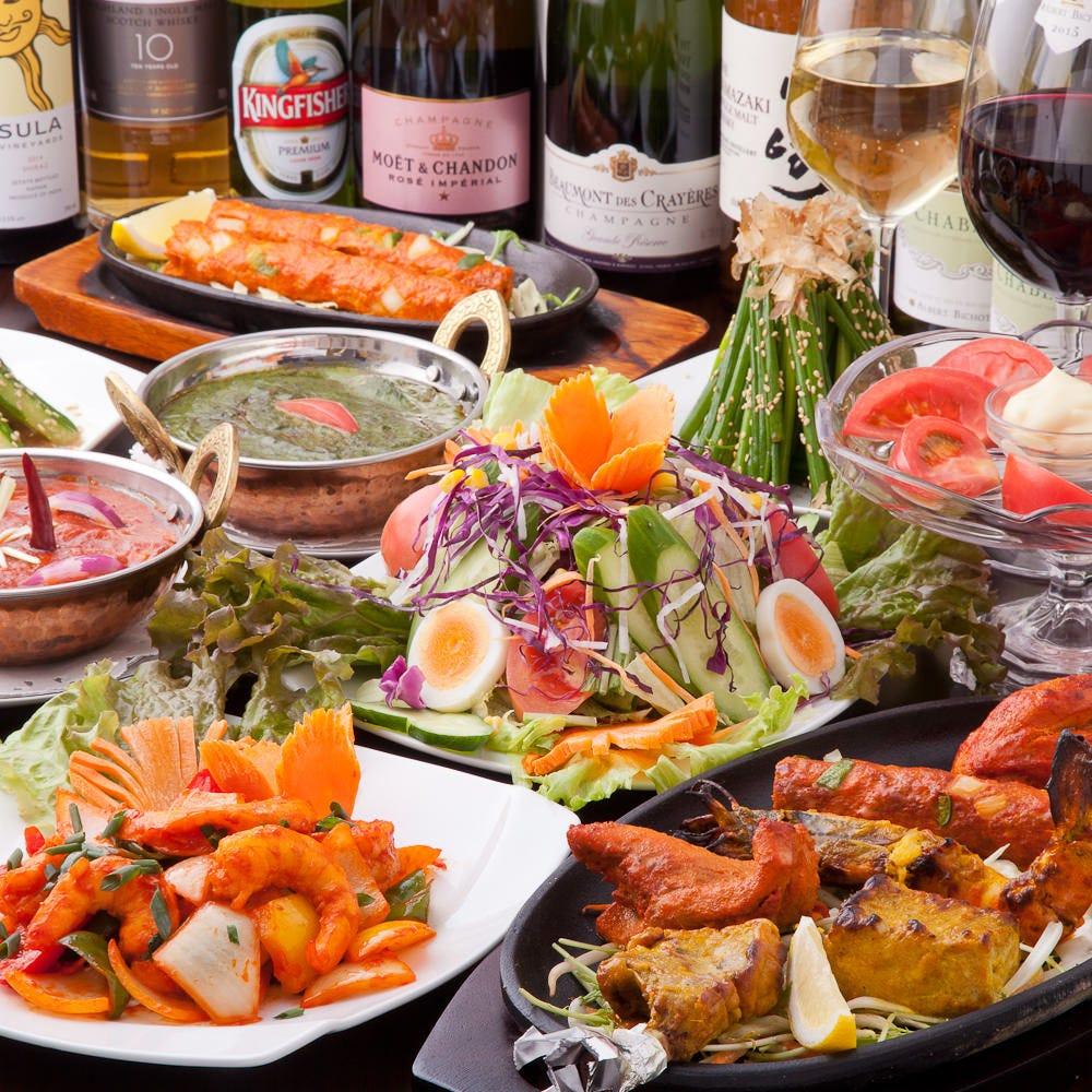 インド料理を親しみやすく。ワインとの組み合わせが新しい!
