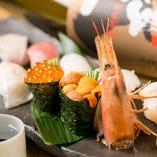 本格にぎり寿司をリーズナブルにご提供しております。