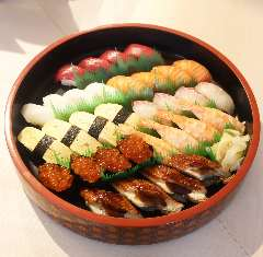 特製オードブル+握り寿司セット