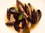 ムール貝の白ワイン蒸