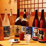 """美味しい""""日本酒・地酒""""が十数種類"""
