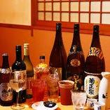 飲み会メニューも豊富なラインナップ♪旬の地酒が飲めるプランもございます
