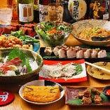 【猫飲みコース】9品コース料理+飲み放題(90分)|宴会 飲み会 歓送迎会