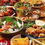 【卵づくしコース】8品コース料理※飲み物別|宴会 飲み会 歓送迎会