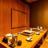 【掘りごたつ席完全個室(2~6名様×4部屋)】プライベート空間でカジュアル接待