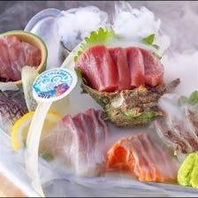 原価率100%の本気!海風丼&玉手箱