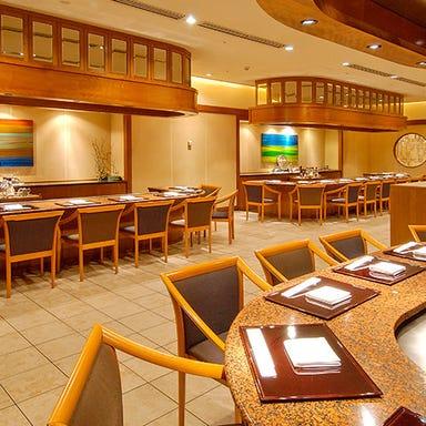 ホテルグランヒルズ静岡 鉄板焼 けやき 店内の画像
