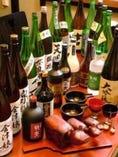 都内では入手困難な地酒や季節の地酒も多数ございます。