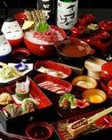 その日の最高の会津の郷土料理を 堪能できる板長おまかせコース